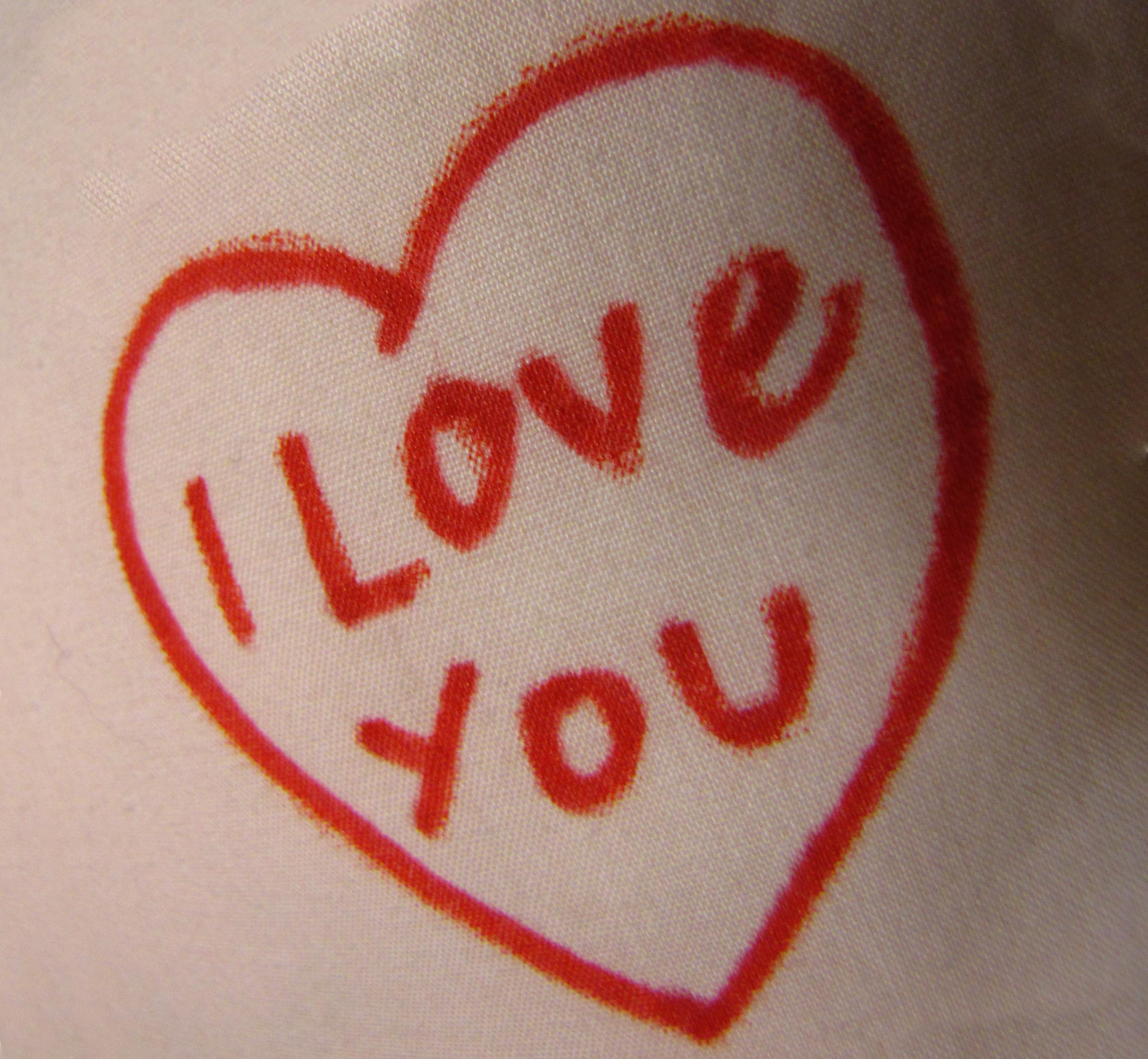 Raggedy Ann I Love You Stamp