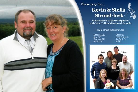 Stroud-lusk Prayer Card